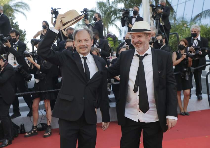 Denis Podalydes et le réalisateur Arnaud Desplechin