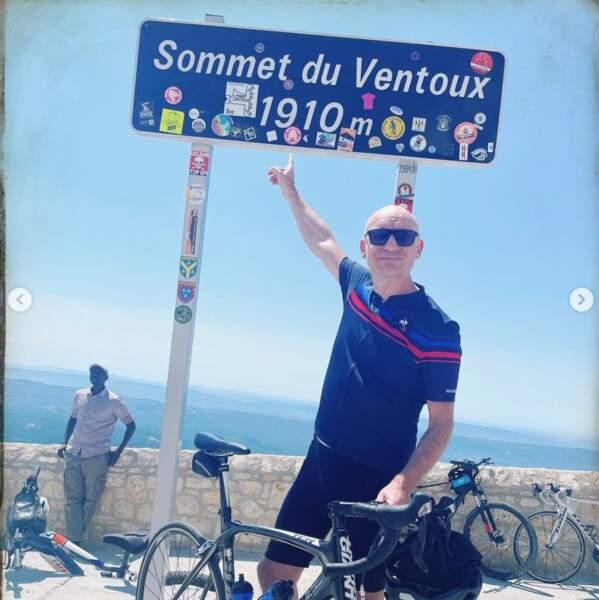 Gaëtan Roussel a fait du vélo et ça grimpait sévère.