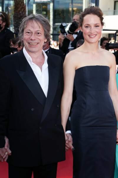 Mathieu Amalric et Vicky Krieps