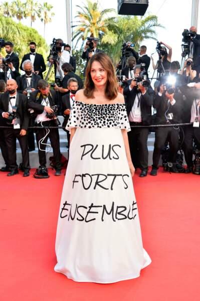 """Avant la présentation du film """"Annette"""", Iris Berben  nous envoie un message."""