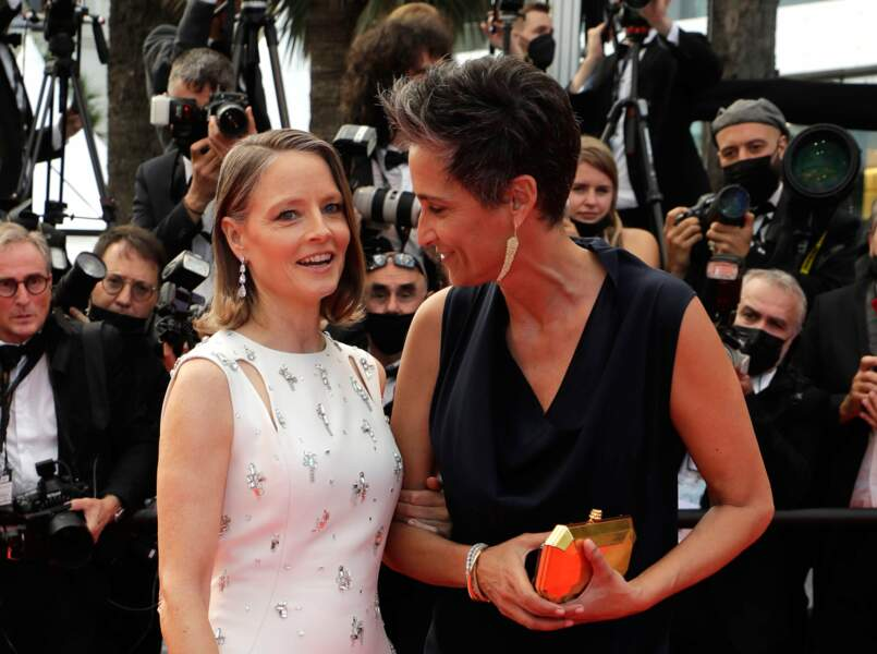 Jodie Foster est venue recevoir une Palme d'Or d'honneur accompagnée d'Alexandra Hedison.