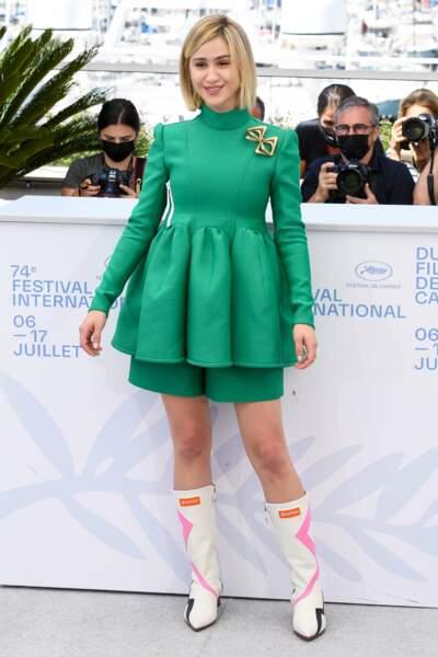 Maria Bakalova préfère le vert