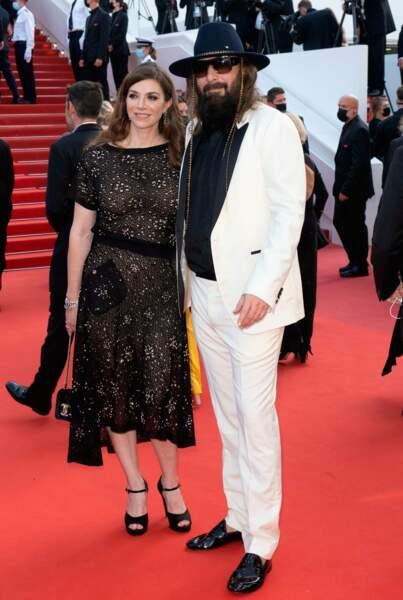 Sebastien Tellier et Amandine de la Richardiere sont mariés depuis 2012.
