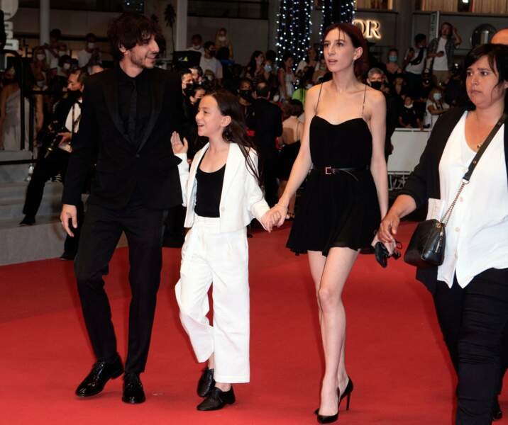 Ben, Alice et Joe Attal, les trois enfants de  Charlotte Gainsbourg et Yvan Attal.