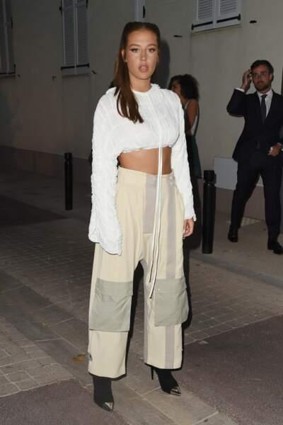 Adèle Exarchopoulos préfère le pantalon mais avec talons