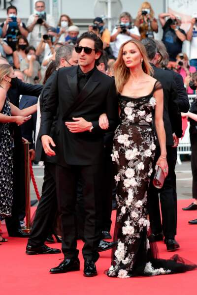 Adrien Brody et Georgina Chapman, l'ex-épouse de Harvey Weinstein.