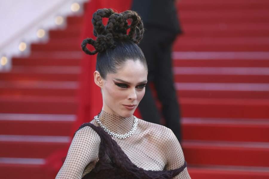La mannequin Coco Rocha, au look très singulier