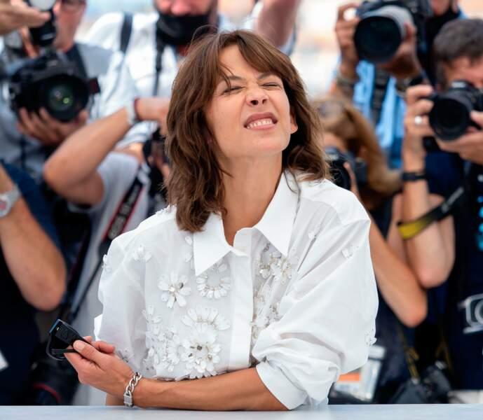 """Sophie Marceau est une habituée du Festival. Elle a présenté le film """"Tout s'est bien passé"""" de François Ozon."""
