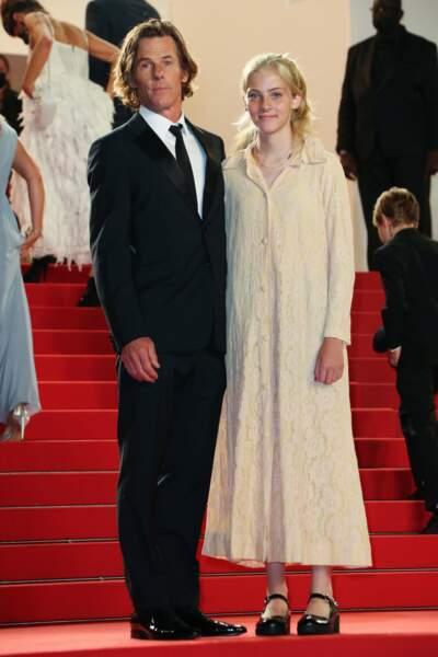La fille de Julia Roberts, Hazel, 16 ans, avec son père Daniel Moder.