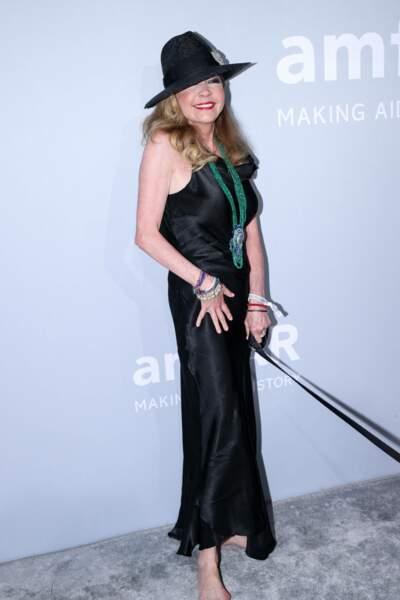 Caroline Scheufele, la coprésidente de la marque de bijoux Chopard, n'est pas venue seule…