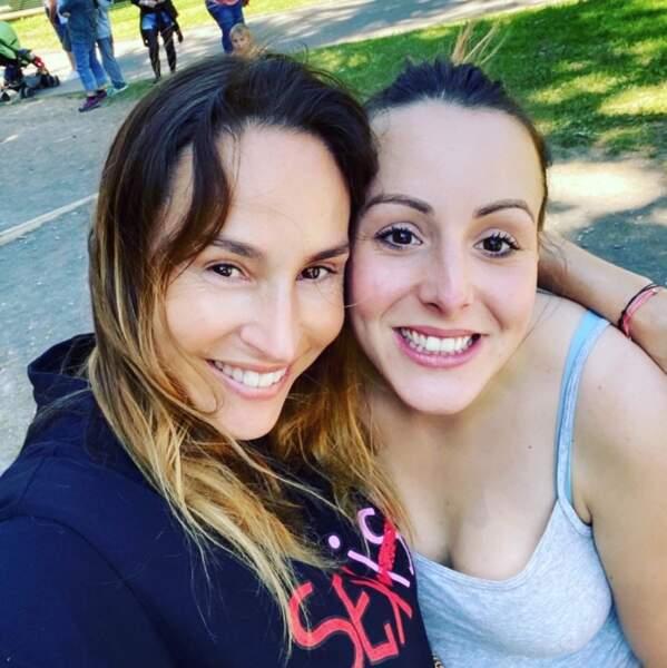 Selfie entre sœurs pour Vanessa et Marion Demouy.