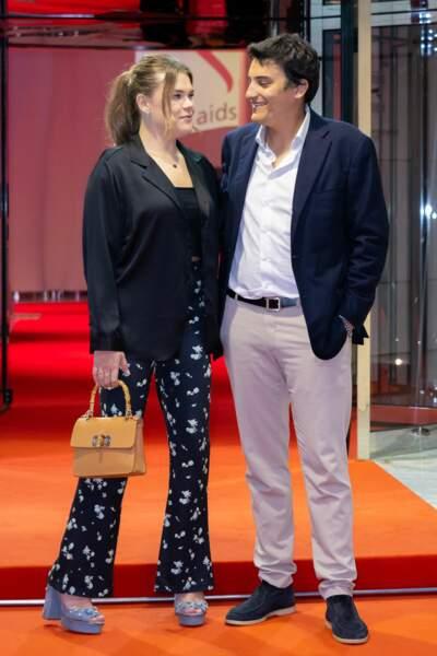 Camille Gottlieb a assisté au gala Fight Aids Monaco 2021 avec son meilleur ami.