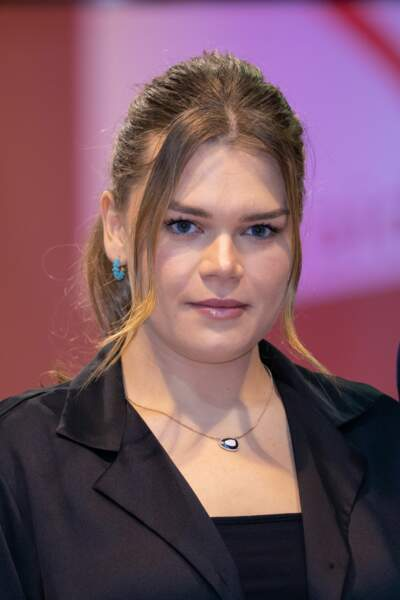 Camille Gottlieb a assisté au gala Fight Aids Monaco 2021, samedi 24 juillet, à Monte-Carlo.