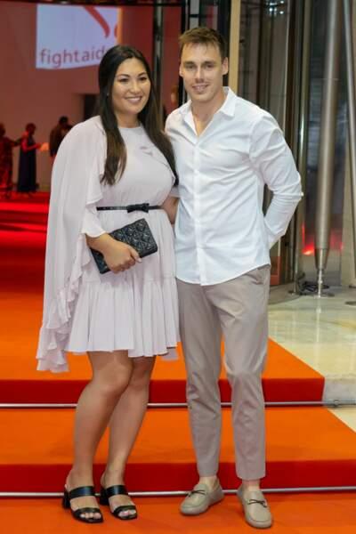 Louis Ducruet et Marie Chevallier ont assisté au gala Fight Aids Monaco 2021, samedi 24 juillet, à Monte-Carlo.