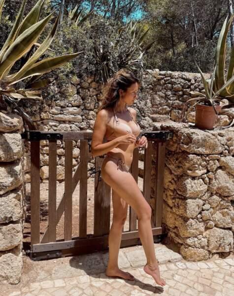 C'est au Portugal que Delphine Wespiser se détend, également auprès des siens