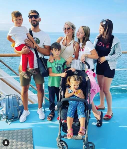 La famille Dol au grand complet pour des vacances bien méritées