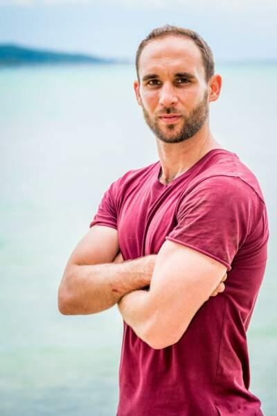 Maxime Berthon, 34 ans Candidat de Koh-Lanta : La guerre des chefs (2019)