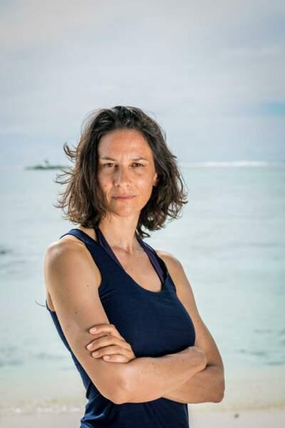 Christelle Gauzet, 40 ans Gagnante de Koh-Lanta : Caramoan (2008) et candidate du Retour des héros (2009). La doyenne de cette édition.