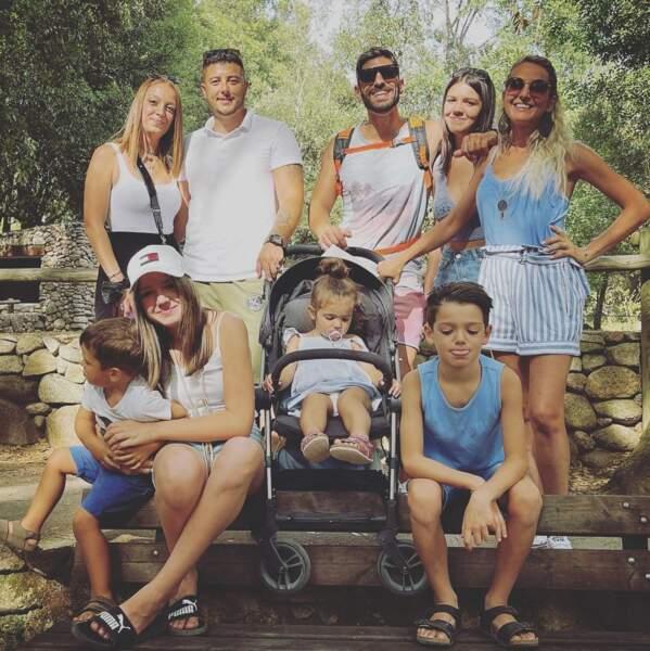 Les Dol ont bien profité de leur séjour en Corse en famille