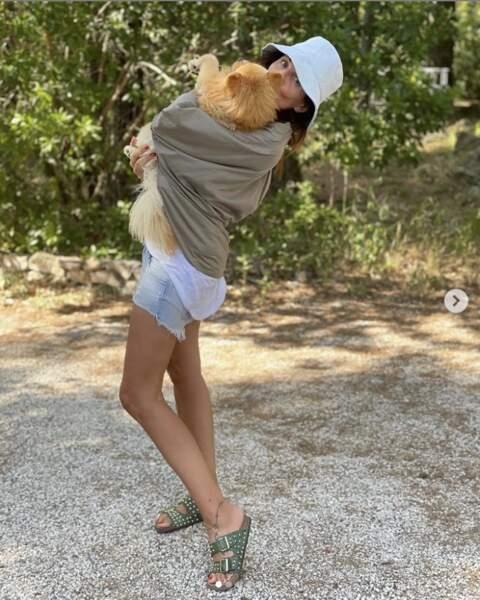 Veronika Loubry préfère les chiens