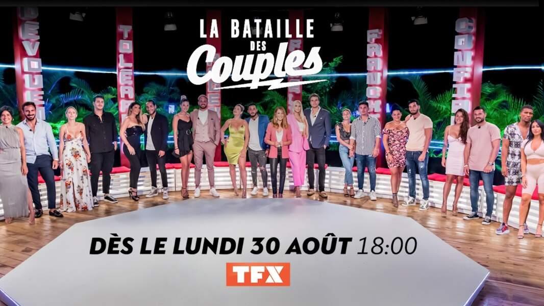 La Bataille des Couples revient le 30 août sur TFX