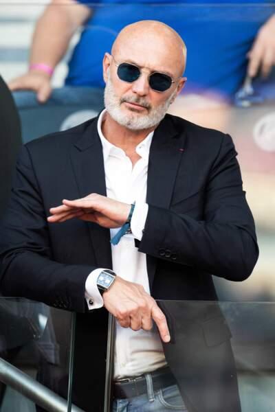 L'ancien footballeur Franck Leboeuf au Parc des Princes