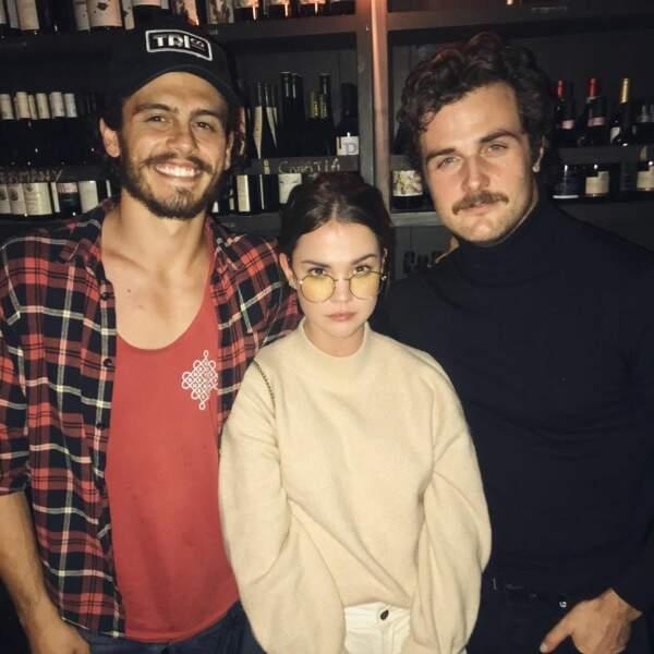Le trio amoureux de la série au complet… Tommy Martinez (Gael), Maia Mitchell (Callie) et Beau Mirchoff (Jamie) !