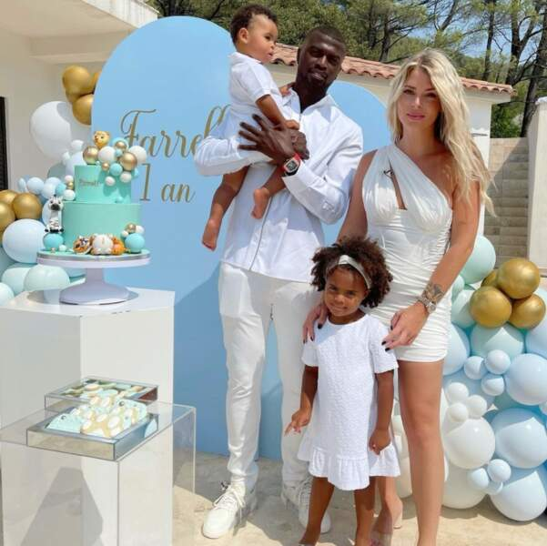 Et le petit Farrell a fêté son premier anniversaire avec sa sœur Louna et ses parents M'baye Niang et Emilie Fiorelli.