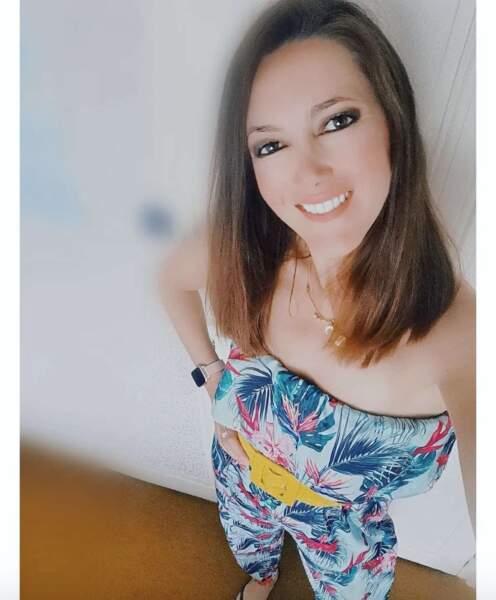 Point mode et beauté : Sandra Lou est passée chez le coiffeur.
