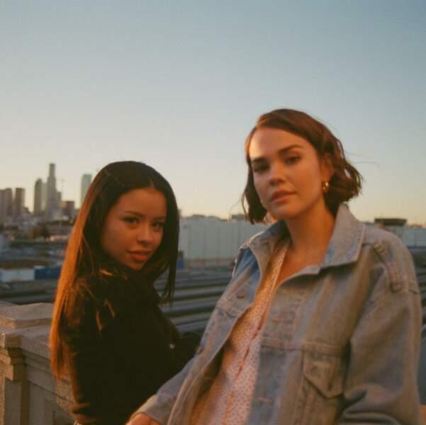 Cierra Ramirez et Maia Mitchell sont les deux héroïnes de la série Good Trouble, le spin-off de la fiction The Fosters
