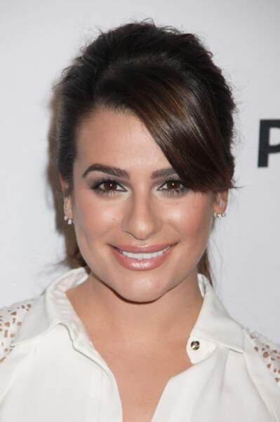 Autre série phare de Ryan Murphy : Glee avec Lea Michele