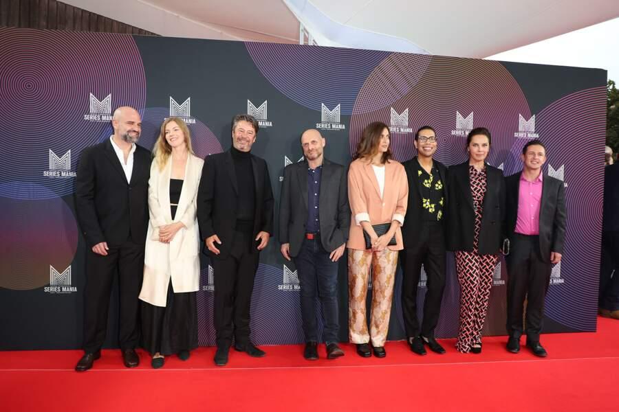 Le jury du Festival Séries Mania 2021