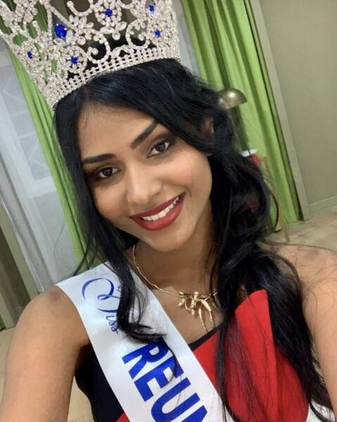 La sublime Dana Virin est couronnée Miss Réunion