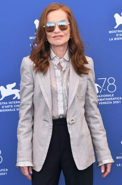 Look rock'n'roll pour l'actrice française !