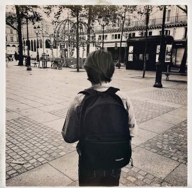 Milo, le fils de Marc Lavoine et de Sarah Poniatowski, a lui aussi repris le chemin de l'école