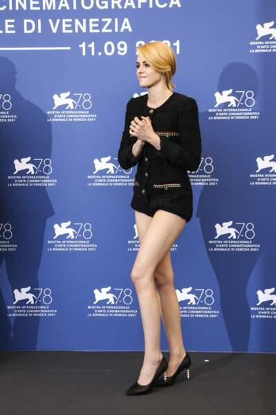 Kristen Stewart, heureuse d'être à la 78ème édition de la Mostra de Venise