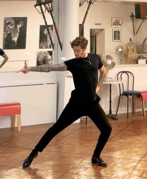 Adrien Caby pratique et enseigne le paso doble