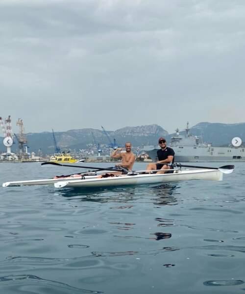 Et les deux acolytes McFly et Carlito sont main dans la main pour réussir leur traversée de la Méditerranée !