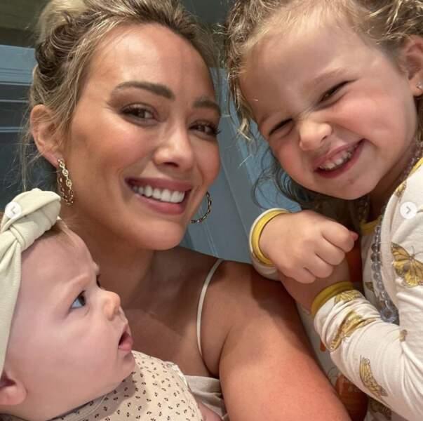 Voici Banks et Mae, les deux filles d'Hilary Duff.