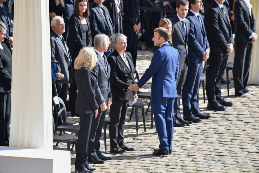 Hommage à Jean-Paul belmondo aux invalides