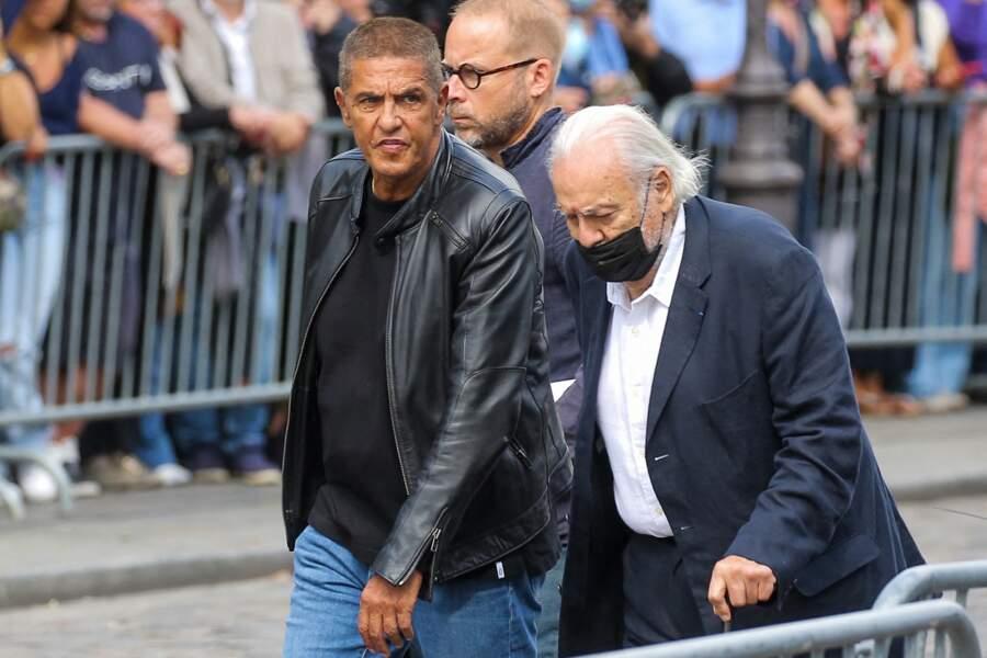 Samy Naceri et Marcel Campion