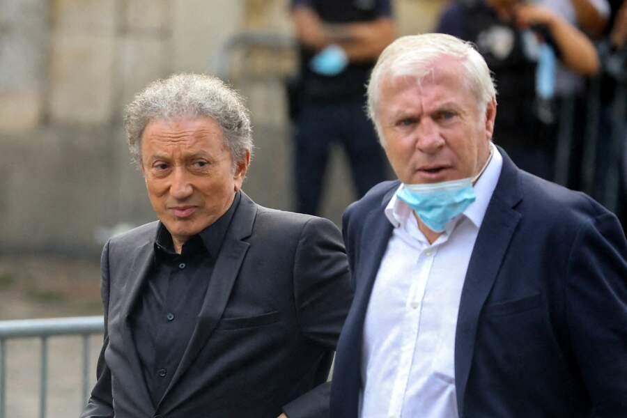 Michel Drucker et Luis Fernandez.
