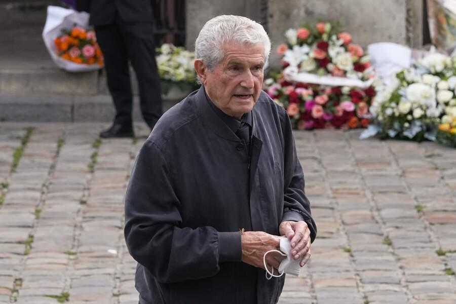 """Claude Lelouch vient rendre un dernier hommage à 'l'enfant gaté""""."""