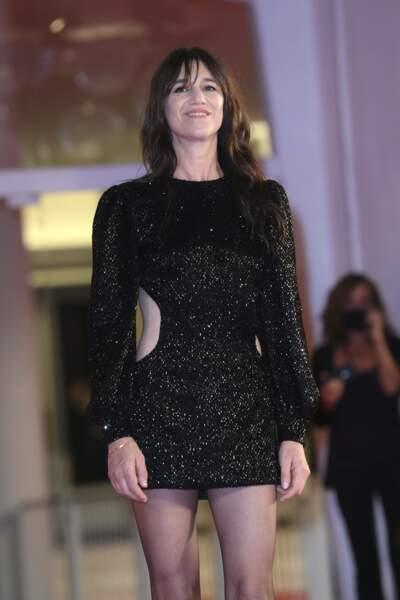 Charlotte Gainsbourg à la 78ème Mostra de Venise