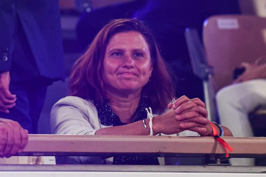 La ministre des sports Roxana Maracineanu soutenait également ses troupes...