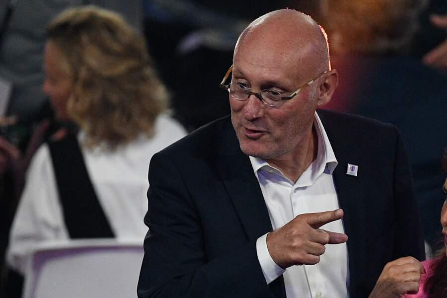 Bernard Laporte, président de la Fédération française de rugby