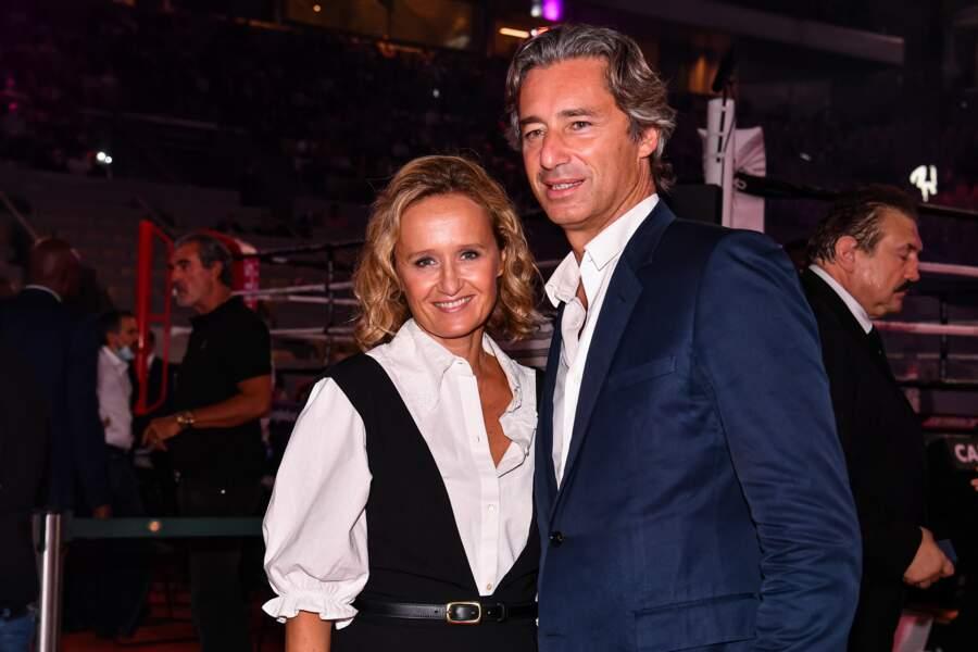Caroline Roux et son mari Laurent Solly.
