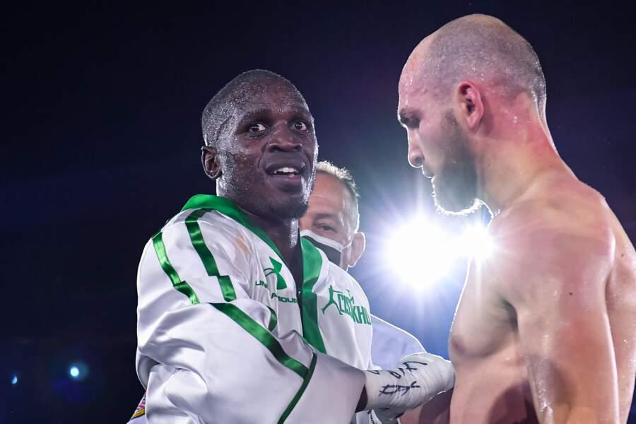 Et Souleymane Cissokho a battu le Russe Ismail Iliev.