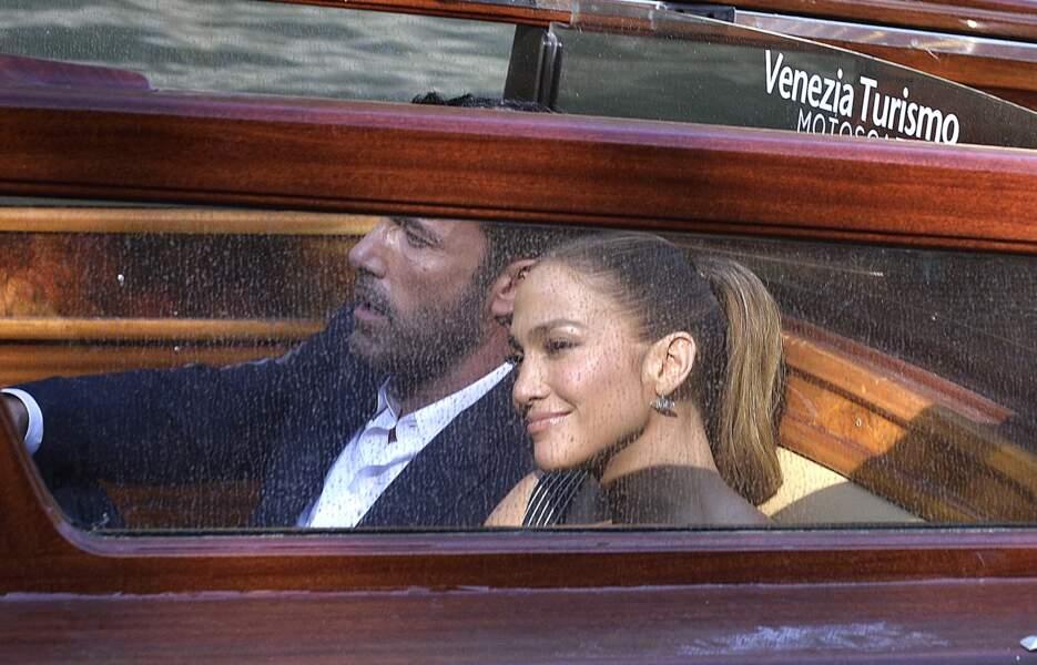 Jennifer Lopez et Ben Affleck sont arrivés ensemble à la Mostra de Venise.