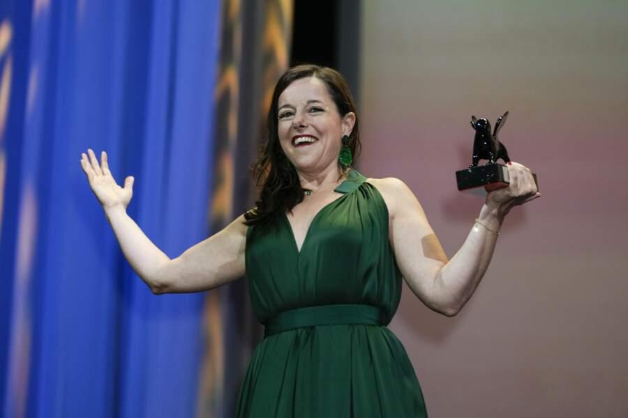 L'actrice française est très heureuse d'avoir reçu ce prix